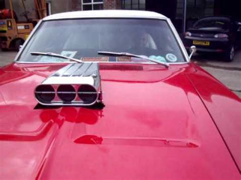 Dodge Charger with Air Intake Scoop in Bonnet - YouTube